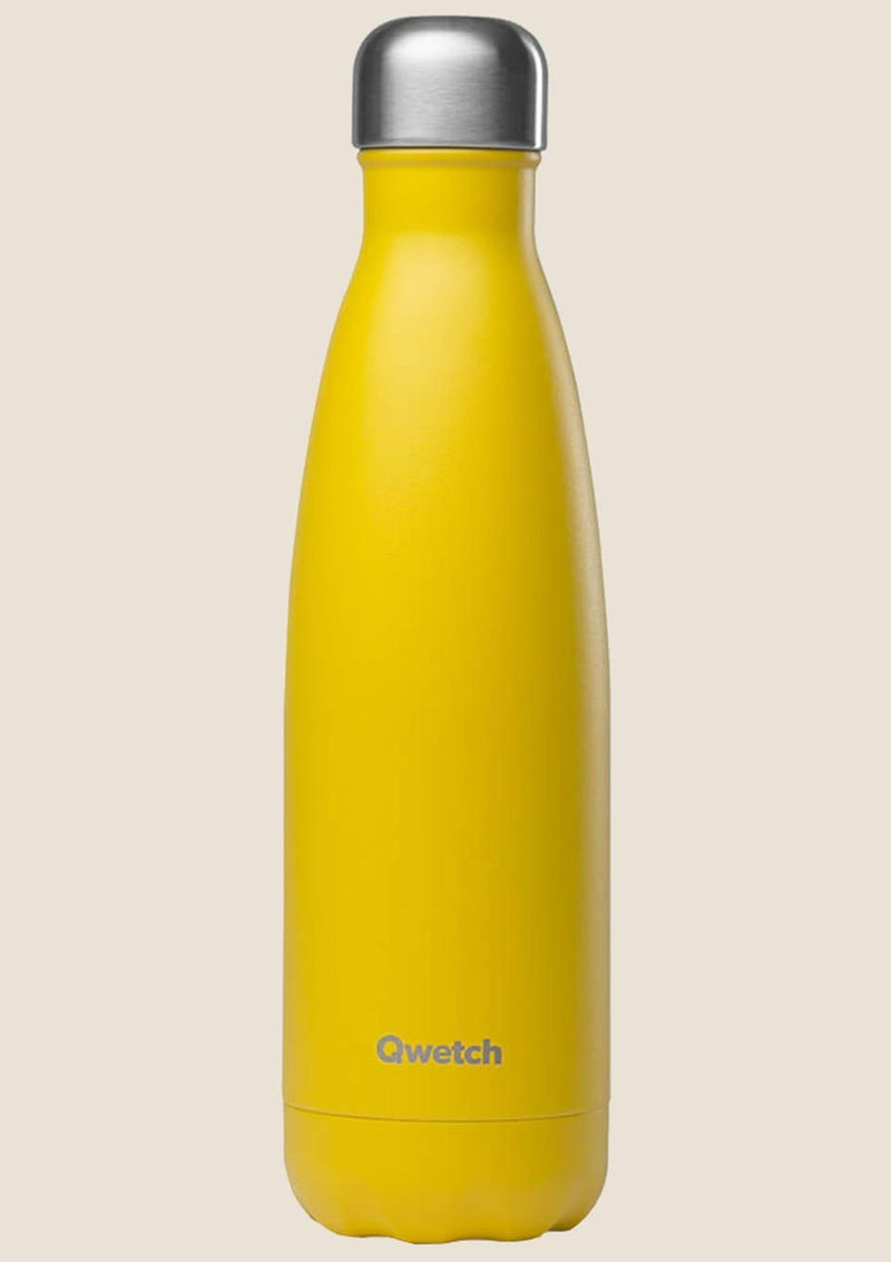 Qwetch Thermosflasche Pop gelb 500ml - tiny-boon.com