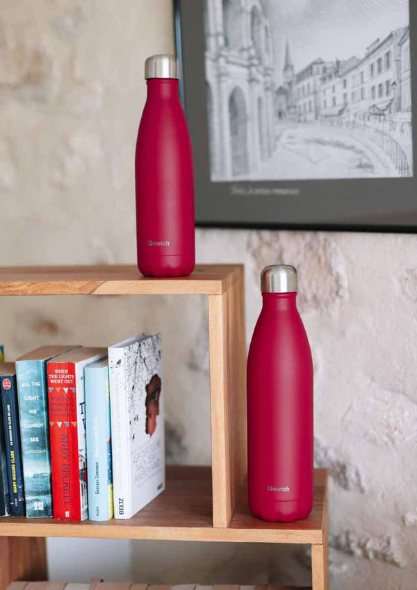 Qwetch Thermosflasche rasberry matt 750ml - tiny-boon.com