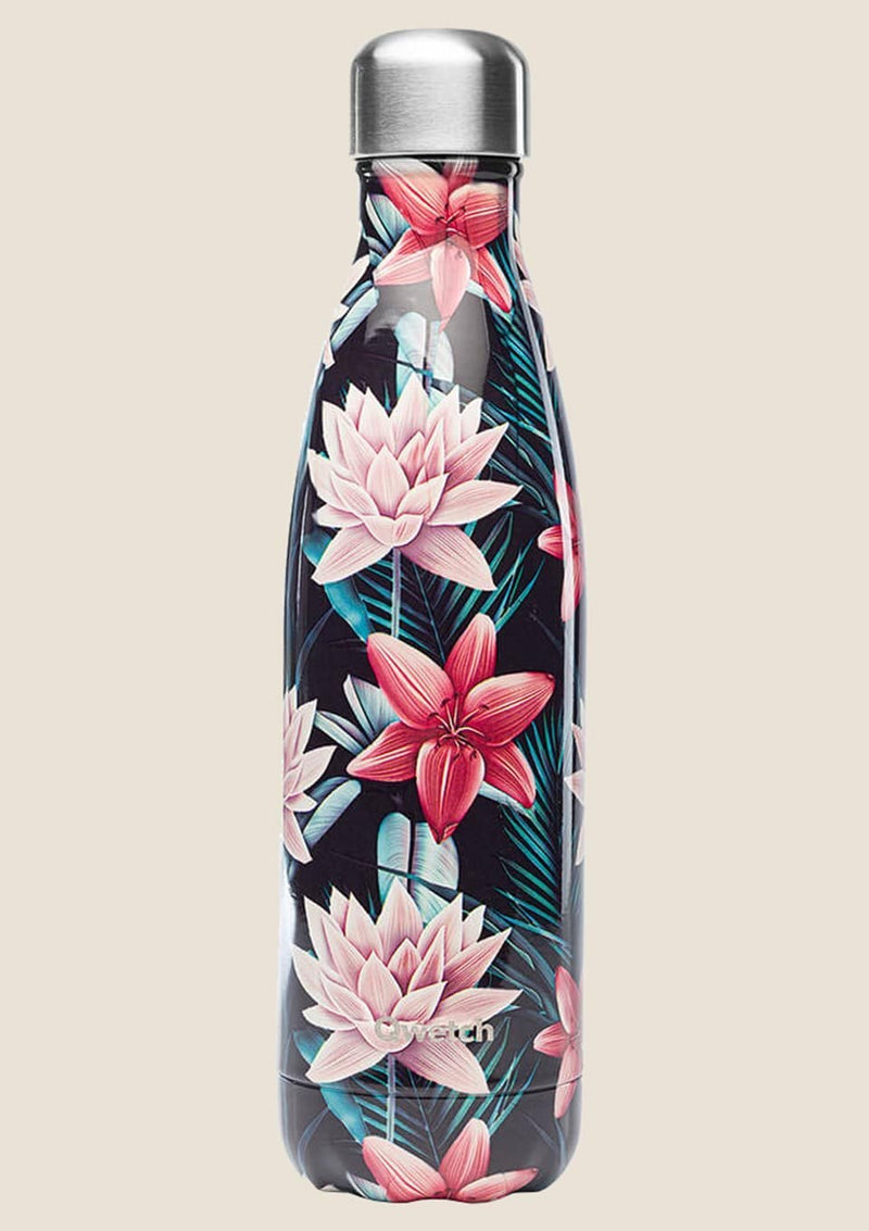 "Qwetch Thermosflasche ""Tropical Black"" 500ml - tiny-boon.com"