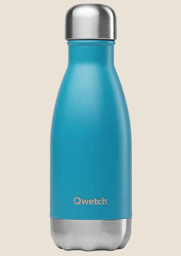 Qwetch Thermosflasche türkis 260 ml - tiny-boon.com