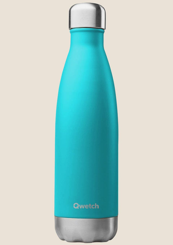 Qwetch Thermosflasche türkis 500 ml - tiny-boon.com