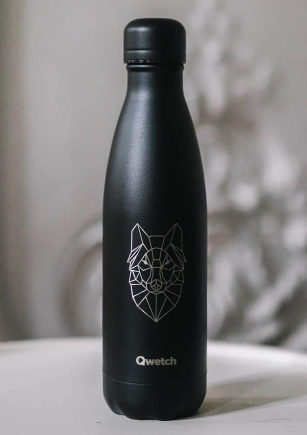 "Qwetch Thermosflasche ""Wolf Tätowierung"" 500ml - tiny-boon.com"