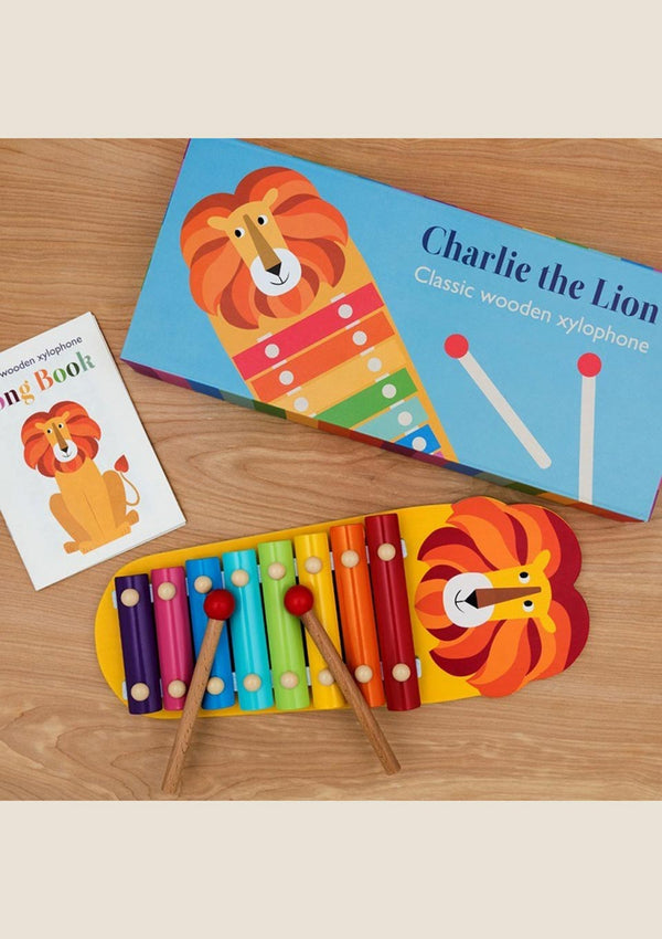 "Rex London Buntes Xylophone ""Löwe"" - tiny-boon.com"