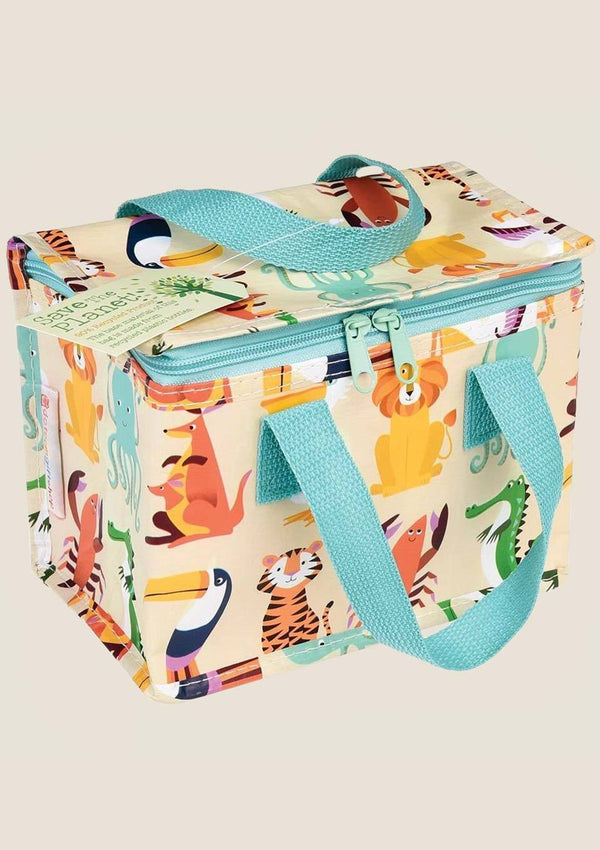 "Rex London Isolierte Snacktasche ""Colourful Creatures"" - tiny-boon.com"