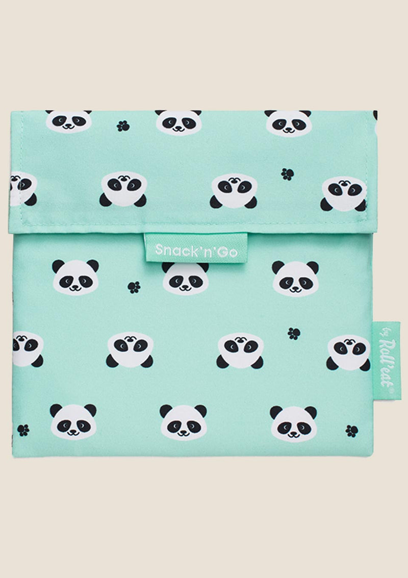 "Roll'eat Snack'n'Go Beutel ""Panda"" - tiny-boon.com"
