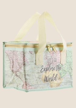 "Sass & Belle Isolierte Snacktasche ""World Explorer"" - tiny-boon.com"