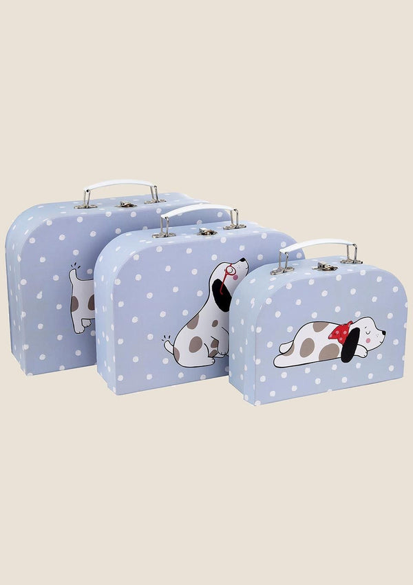Sass & Belle Kofferset Barney the Dog 3er Set - tiny-boon.com