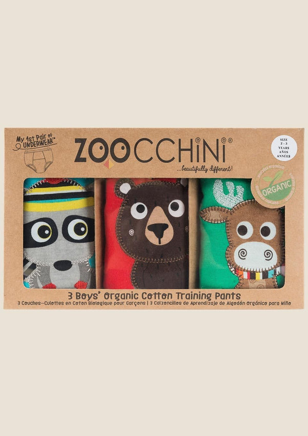 Zoocchini Trainingshöschen Forest Chums 3er-Set - tiny-boon.com