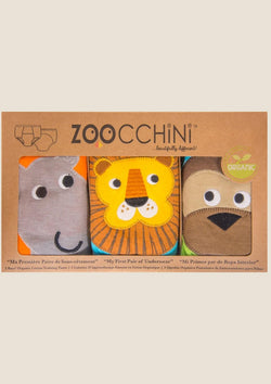 Zoocchini Trainingshöschen Safari Friends 3er-Set Gr. 2-3 Jahre - tiny-boon.com