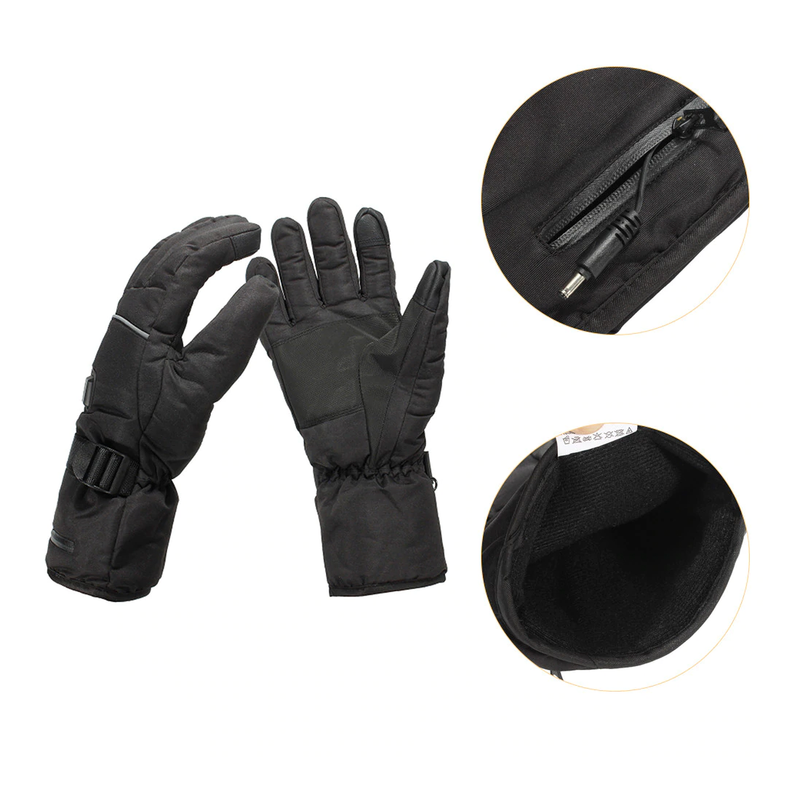 Heated Snow Gloves