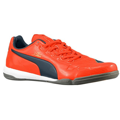 cee804347 Size 10 - PUMA Evopower 3 IT - Mens Indoor Soccer Shoes - Fluro Peach