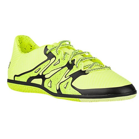 Size 8 - adidas X 15.3 IN - Mens Indoor Soccer Shoes - Solar Yellow/Frozen Yellow/Black Clearance