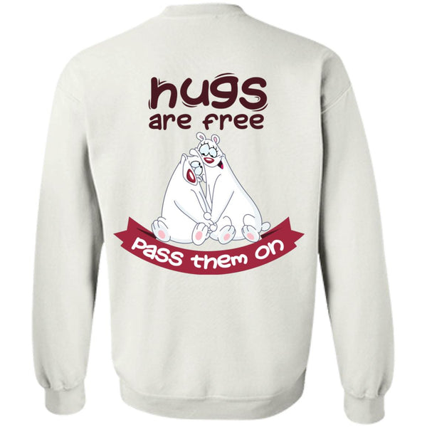HUGS ARE FREE PASS THEM ON