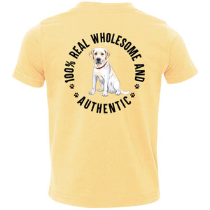100% REAL WHOLESOME AND AUTHENTIC TODDLER LABRADOR TSHIRT - Loves Creations Inc