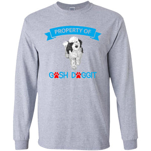 PROPERTY OF GOSH DOGGIT