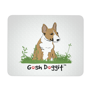 GOSH DOGGIT BULL TERRIER MOUSEPAD