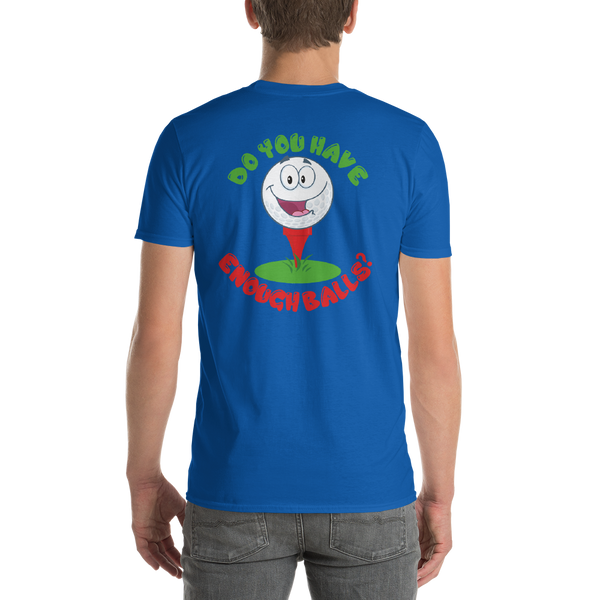 Cool, Catchy, and Goofy Golf Short-Sleeve T-Shirt - Loves Creations Inc