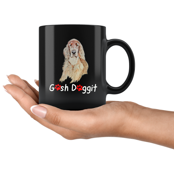 GOSH DOGGIT IRISH SETTER MUG