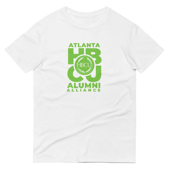 Green on White Short-Sleeve T-Shirt