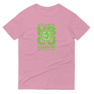 Green on Pink Short-Sleeve T-Shirt