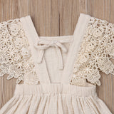 Vintage Baby Girls Dress Summer