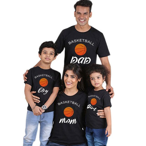 BASKETBALL Family Matching T-shirt