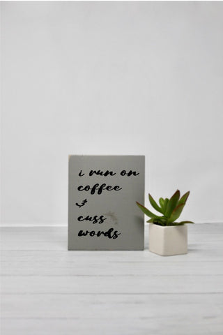 Coffee & Cuss Words