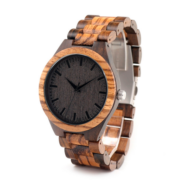 Elegant Men's wooden watch (Handmade)