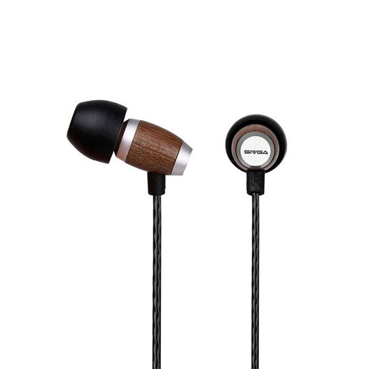 Wooden Hifi Stereo Earpiece by SIVGA