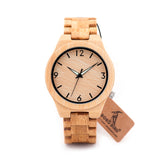 Men's natural Bamboo watch