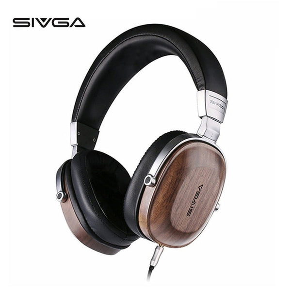 Wooden Headphones by SIVGA