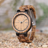 Natural Man's Zebrawood watch (handmade)
