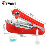 NICEYARD Manual Operation Portable Mini Sewing Machine Creative Simple Sewing Tools Home Travel Small Embroidery Random Color