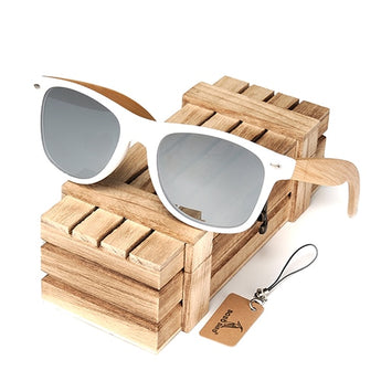 Rectangular unisex Polarized Sunglasses