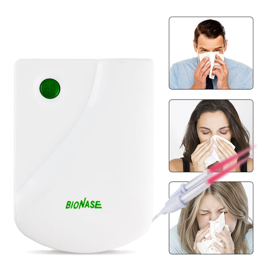 Sinusitis Rhinitis Therapy Hay Fever Low Frequency Pulse Therapeutic Apparatus Household Laser Physiotherapy Massage Instrument