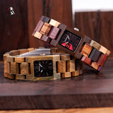 OUT-Girlfriends favorite wooden watch