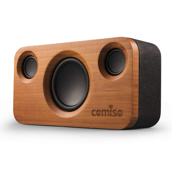 Beautiful wooden 25W Bluetooth Speaker by COMISO