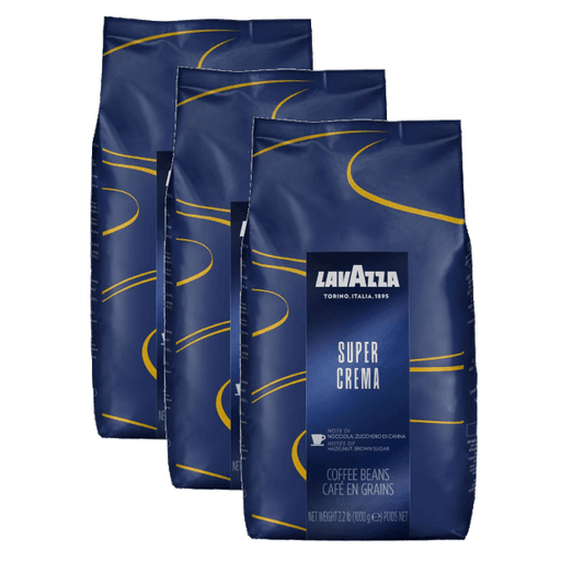 "3 ק""ג פולי קפה לוואצה סופר קרמה Lavazza Super Crema"