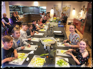 Delicious Italian Menu Children's Easter School Holiday Classes  Ages 8 to 16       April 8th  10am -12.30pm