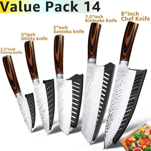 High Carbon Stainless Steel Professional Kitchen Knife