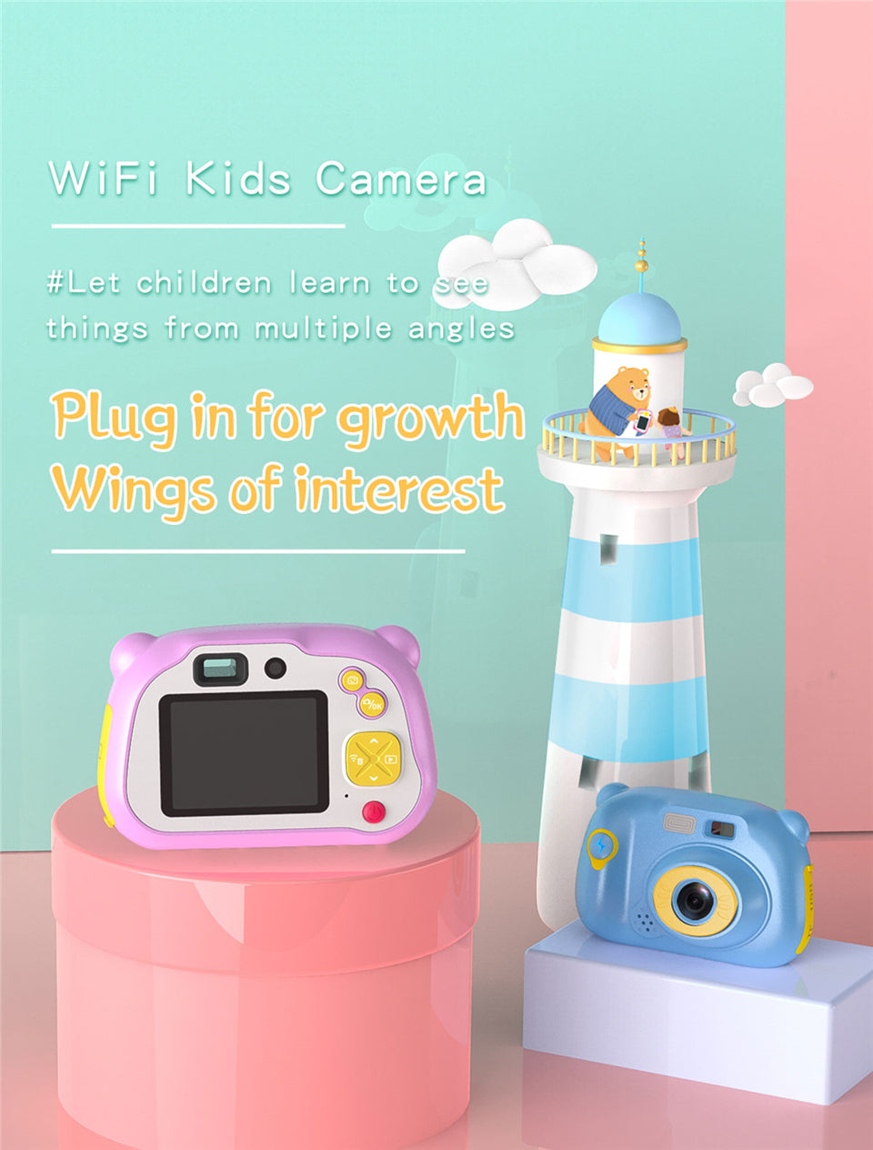 1080P HD Wifi Children Camera