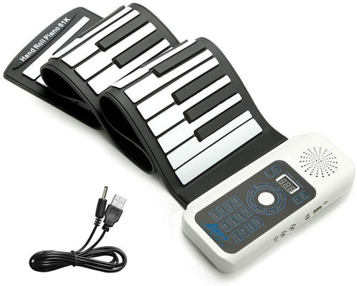 Portable Roll Up Piano For pianists and beginners -Free Shipping