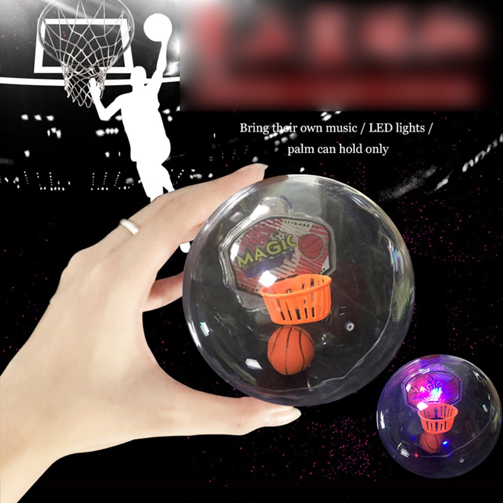 Music Pocket Basketball With Light