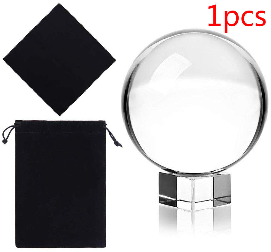Photograph K9 Crystal Ball with Stand and Pouch
