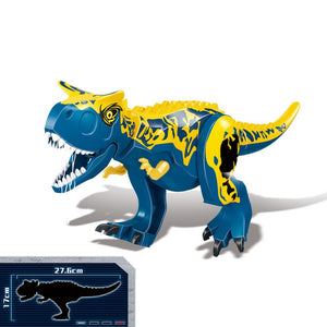 Dinosaurs Block Building for kids(20CM)-the best Stimulate imagination toys