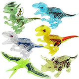 Dinosaurs Block Building for kids(8 pcs 1 pack)-the best Stimulate imagination toys