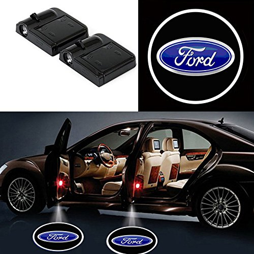 Wireless Car Door Shadow Light Projection