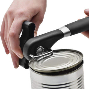 Stainless Steel Manual Can Bottle Opener with Smooth Edge