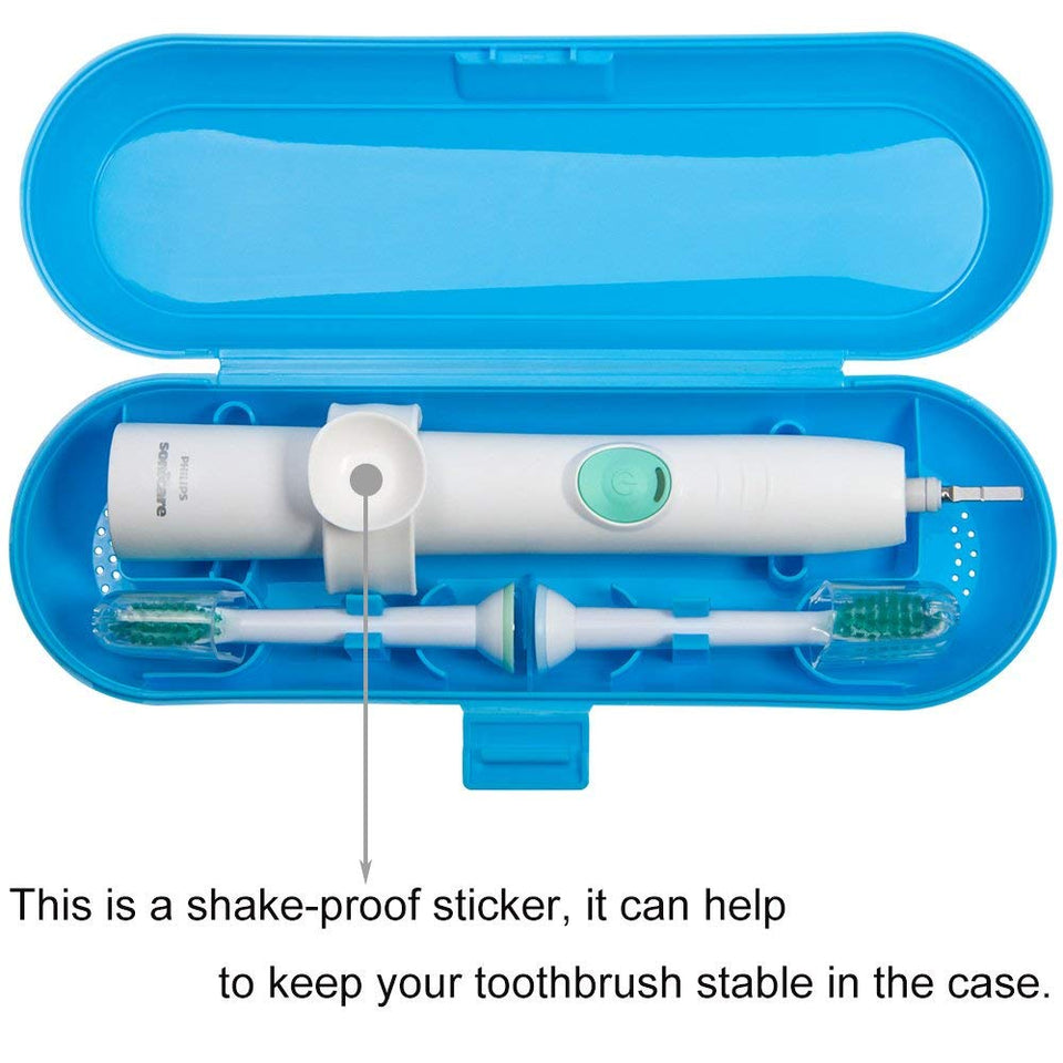 Portable Electric Toothbrush Travel Case for Philips Sonicare Series-Durable