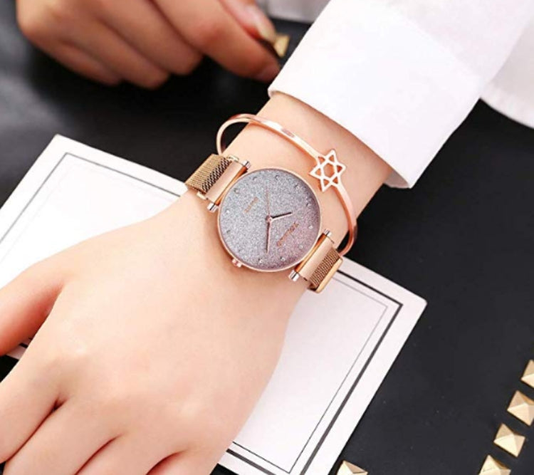 Fashion Star Watch Magnetic Buckle Bracelet